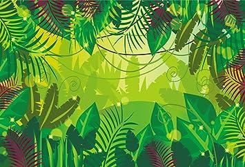 amazon com huayi8x6ft jungle backdrops photography background