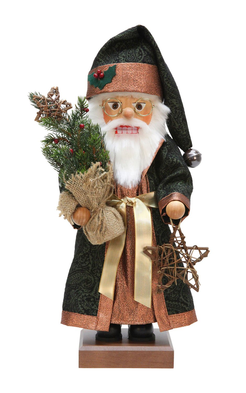 Alexander Taron Christian Ulbricht Decorative Woodland Santa Nutcracker