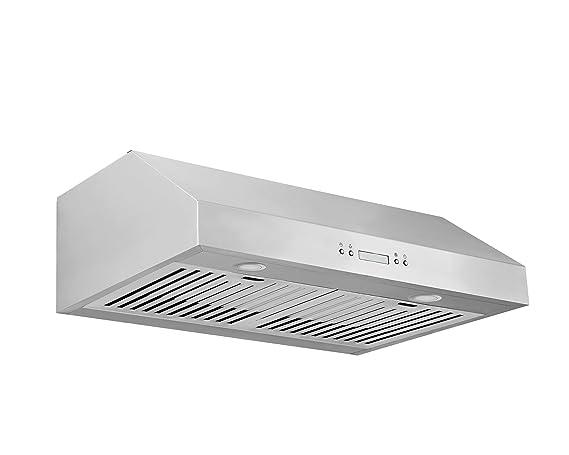 Ancona UCC630 Under Cabinet Range Hood, 30 Inch, Stainless Steel
