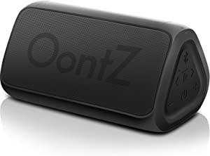 OontZ Angle 3 (3rd Gen) Portable Bluetooth Speaker - RainDance Edition, Louder Crystal Clear Stereo Sound, Rich bass, 100 Ft Wireless Speaker Range, IPX7, Bluetooth Speakers (Black-Waterproof)
