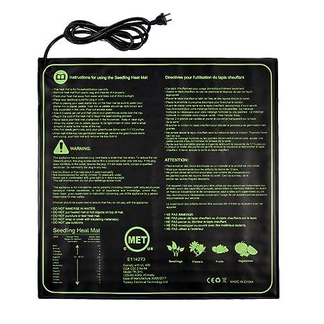 Reptil Calefaccin Mat, Yunt Mascotas Invierno Impermeable Electricidad Mat Pecera Constante Temperatura Heat