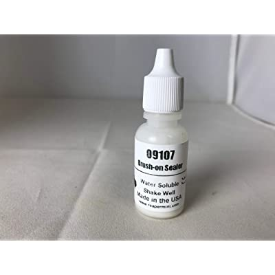 Reaper Miniatures 9107 Brush-On Sealer: Toys & Games