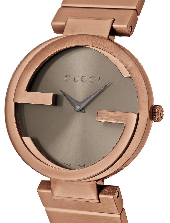fbc88eb2fd51 Amazon | [グッチ]GUCCI 腕時計 INTERLOCKING ブラウン文字盤 YA133317 メンズ 【並行輸入品】 |  並行輸入品・逆輸入品・中古品(メンズ) | 腕時計 通販