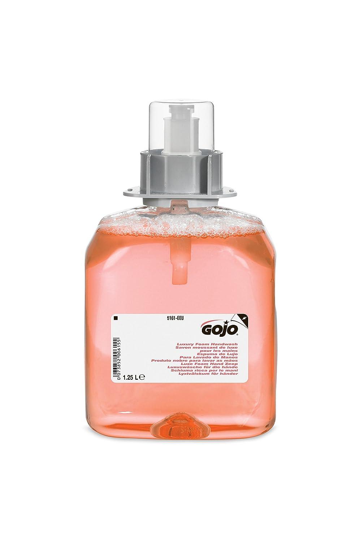 GOJO 5161-03-EEU00 FMX Luxury Foam Handwash, 1250 mL Refill (Pack of 3) GOJO Industries Inc.