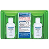 """""""Pac-Kit 24-102 Wall Mountable Eye and Skin Wash Station with Two 16 oz Bottle, 16-1/2"""""""" Length x 3-3/4"""""""" Width x 13-1/2"""""""" He"""
