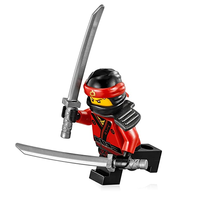Amazon.com: LEGO The Ninjago película minfigure: – Kai (W ...