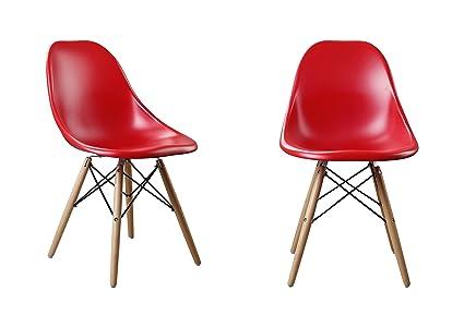 Merveilleux Attraction Design Modern Designer Chair Plastic Chair Side Chair Dining  Chair Set Of 2