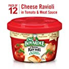 Chef Boyardee Cheese Ravioli, Microwavable Bowl, 7.5 Ounce, Pack of 12