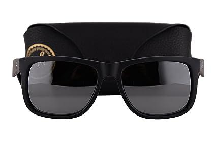 Ray-Ban Gafas de Sol RB4165 Justin w/Gris Espejo Lente de ...