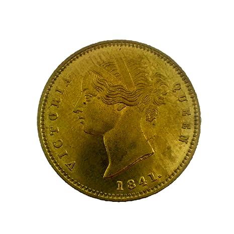 Amazon | イギリス 東インド会社 ビクトリア モハール金貨 1841年 ...