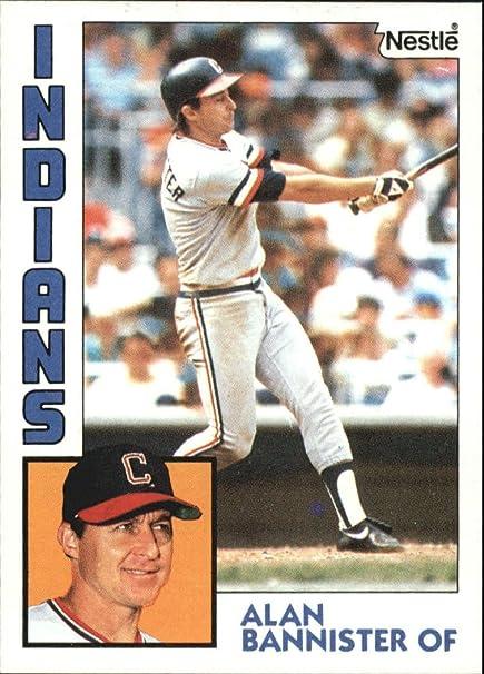 1984 Nestle 792 478 Alan Bannister Baseball Card
