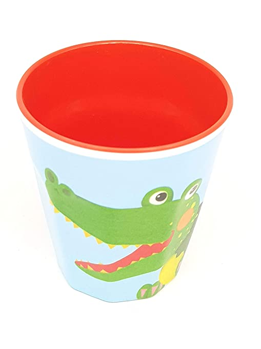 Geschirr Sets Geschirr Die Spiegelburg Melamin Set Krokodil