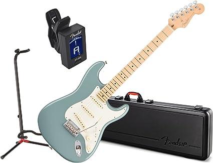 Fender American Pro Strat guitarra eléctrica MN Sonic gris w/caso ...