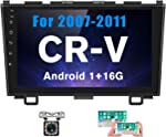 Hikity Android Car Stereo Double Din for Honda CRV (07-11) 9