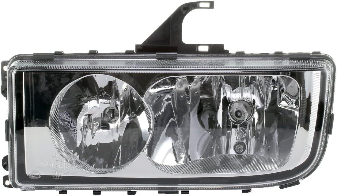 Headlight Cover Lens Left HELLA Mercedes Axor II 2 2004