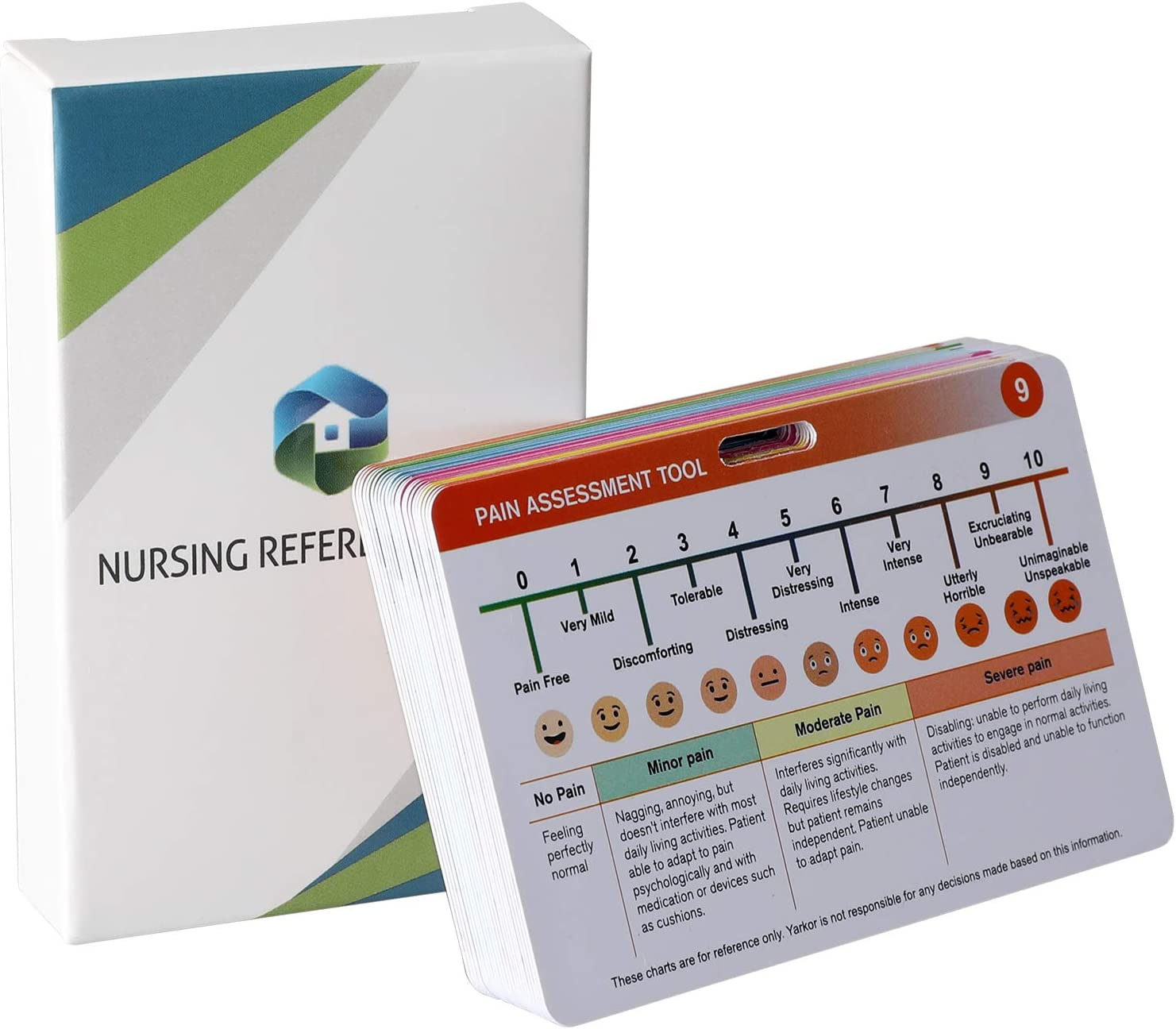 Nursing Cheat Sheets, Trobing Premium Nursing Reference Cards Include General Med, Labs, Medical Spanish, OB/L&D, Pharmacy, Respiratory, and Pediatrics