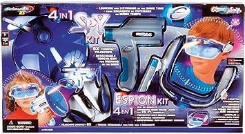 Desconocido 3in1 Spy Kit, Kit de espía, 3 Partes [Importado de ...