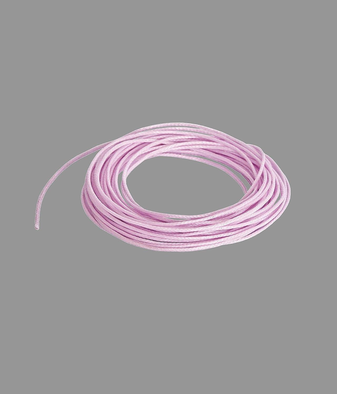 5 m, 1 mm Color Rosa Boutique Des Colors Cord/ón de poli/éster Encerado