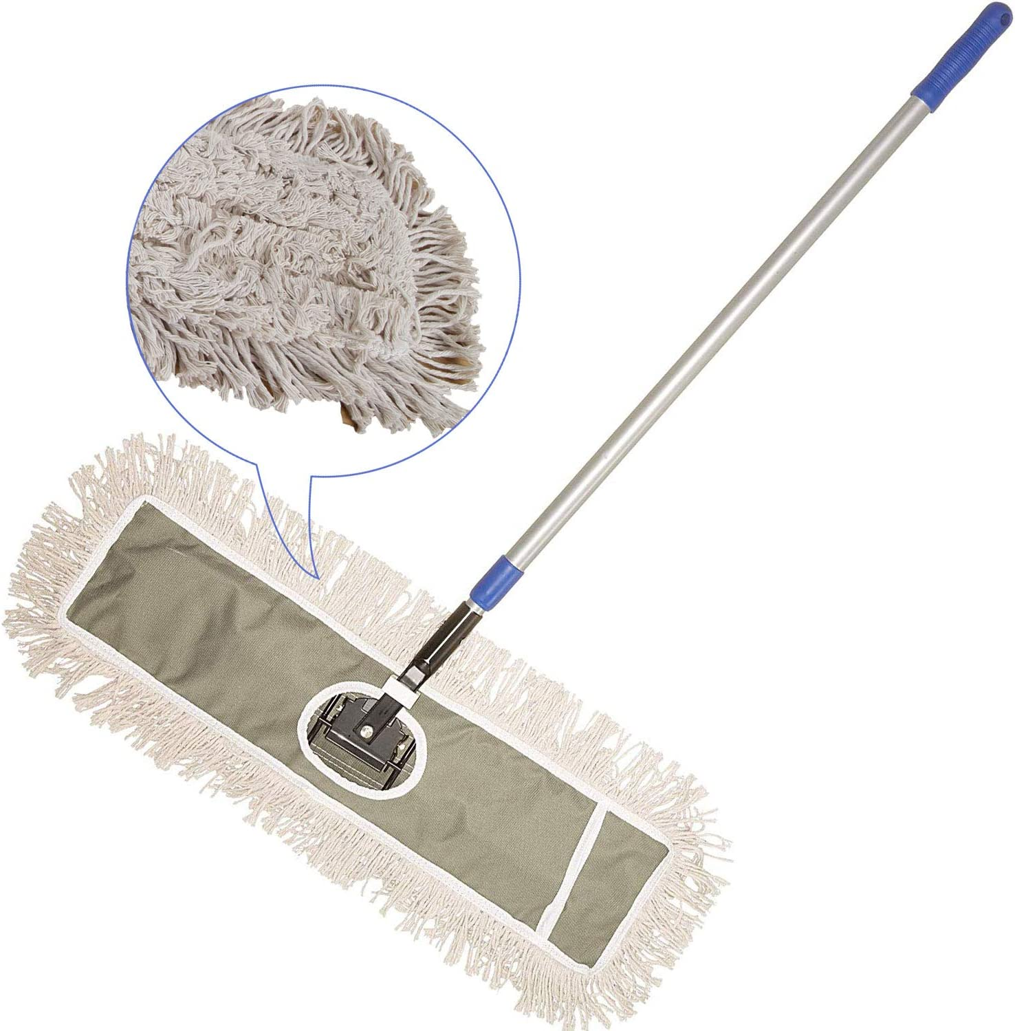 "JINCLEAN 24"" Industrial Class Cotton Floor Mop 