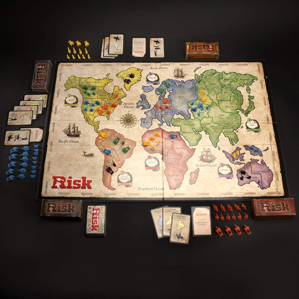 Comprar Hasbro Gaming Clasico Risk (Versión Española) , (B7404105)