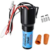 URCO410 3 In 1 Hard Start Kit for Refrigerators & Freezers by AMI PARTS -1/4 to 1/3 HP- Completely Pre-Wired Capacitor