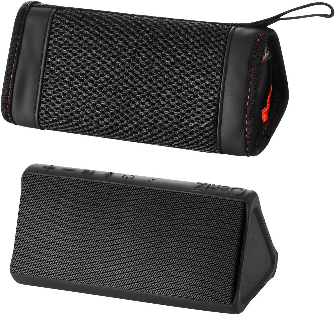 TXEsign Neoprene Mesh Carrying Soft Case Cover Compatible with OontZ Angle 3 3rd Gen Angle 3 Ultra OontZ Angle 3 Plus Portable Wireless Bluetooth Speaker
