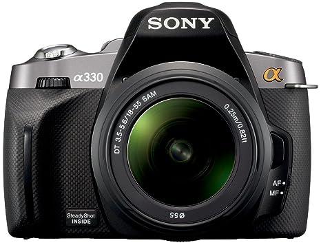 Sony DSLR-A330 + DT 18-55 mm - Cámara Digital Compacta 10.2 MP ...
