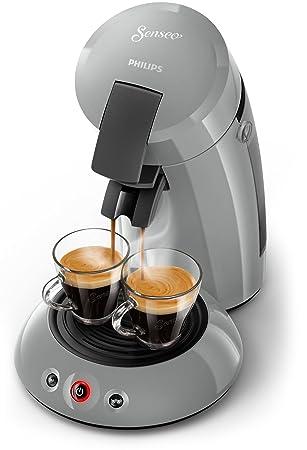 Senseo Original HD6553/70 - Cafetera (Independiente, Máquina de café en cápsulas, 0,7 L, Dosis de café, 1450 W, Gris): Amazon.es: Hogar