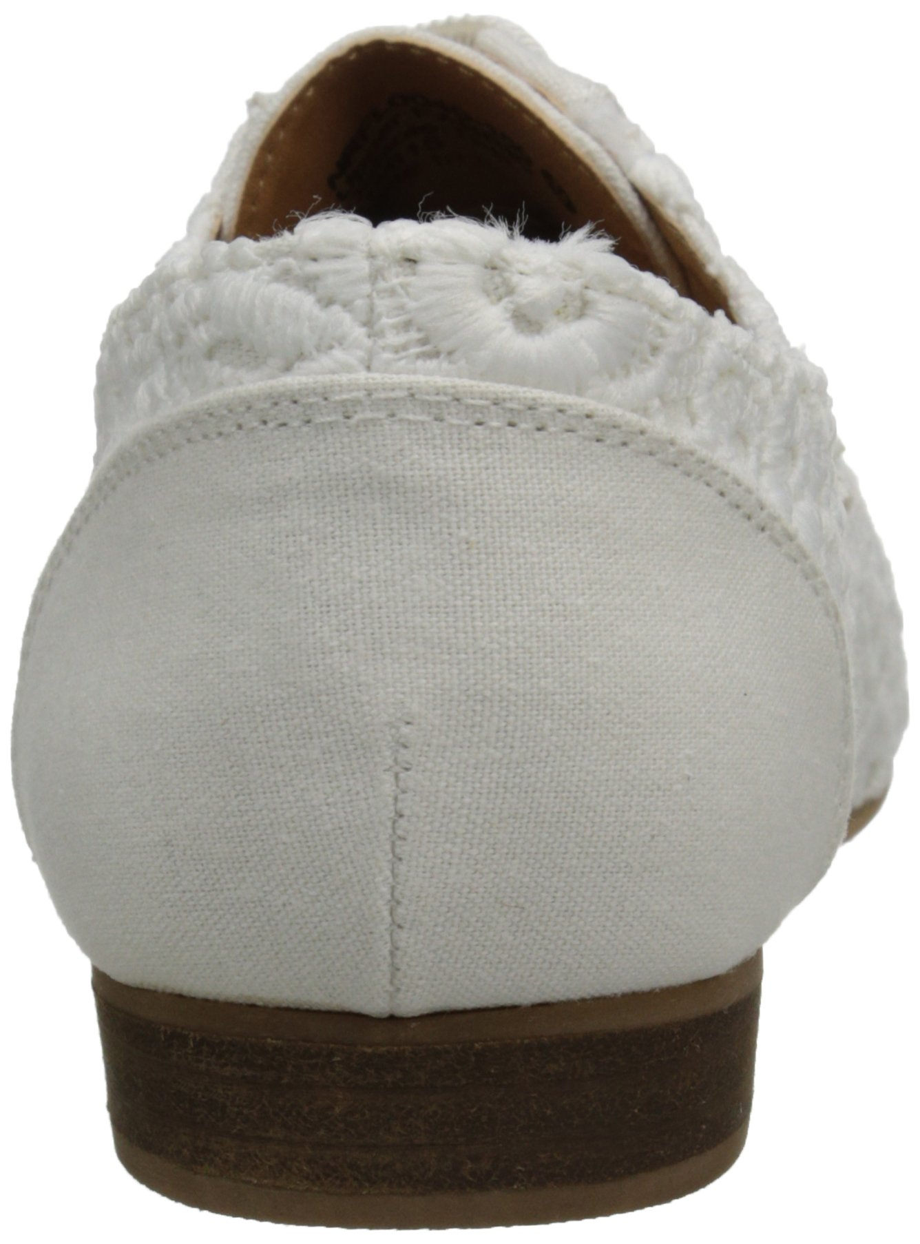 Not Rated Women's Eagle Eye Oxford, White, 7 M US by Not Rated (Image #2)