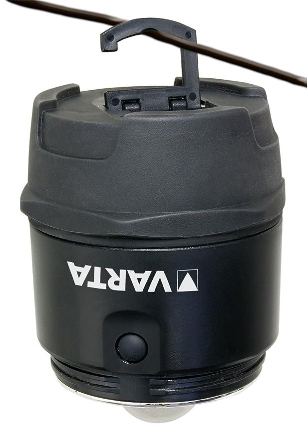 Varta 5 Watt 5W LED INDESTRUCTIBLE LANTERN 3D STCK VA, 5 W, Negro, 3 D, 5