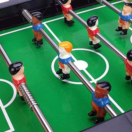 SXJC Futbolín Madera Sobremesa Juguetes De Fútbol para Niños Mini ...