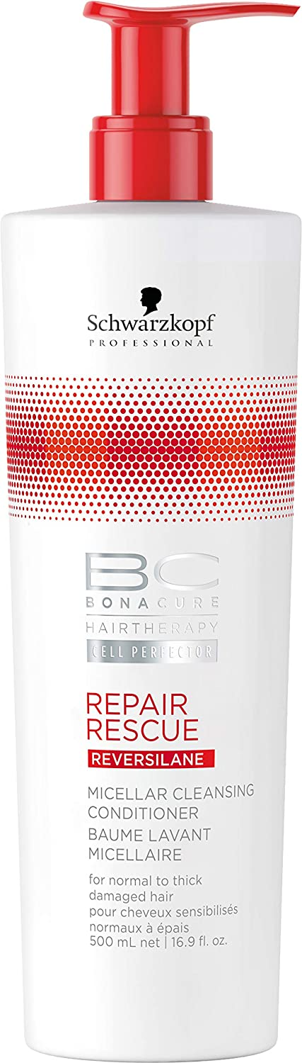 3e627d5b7e Amazon.com: BC BONACURE Repair Rescue Reversilane Micellar Cleansing  Conditioner, 16.9-Ounce: Health & Personal Care