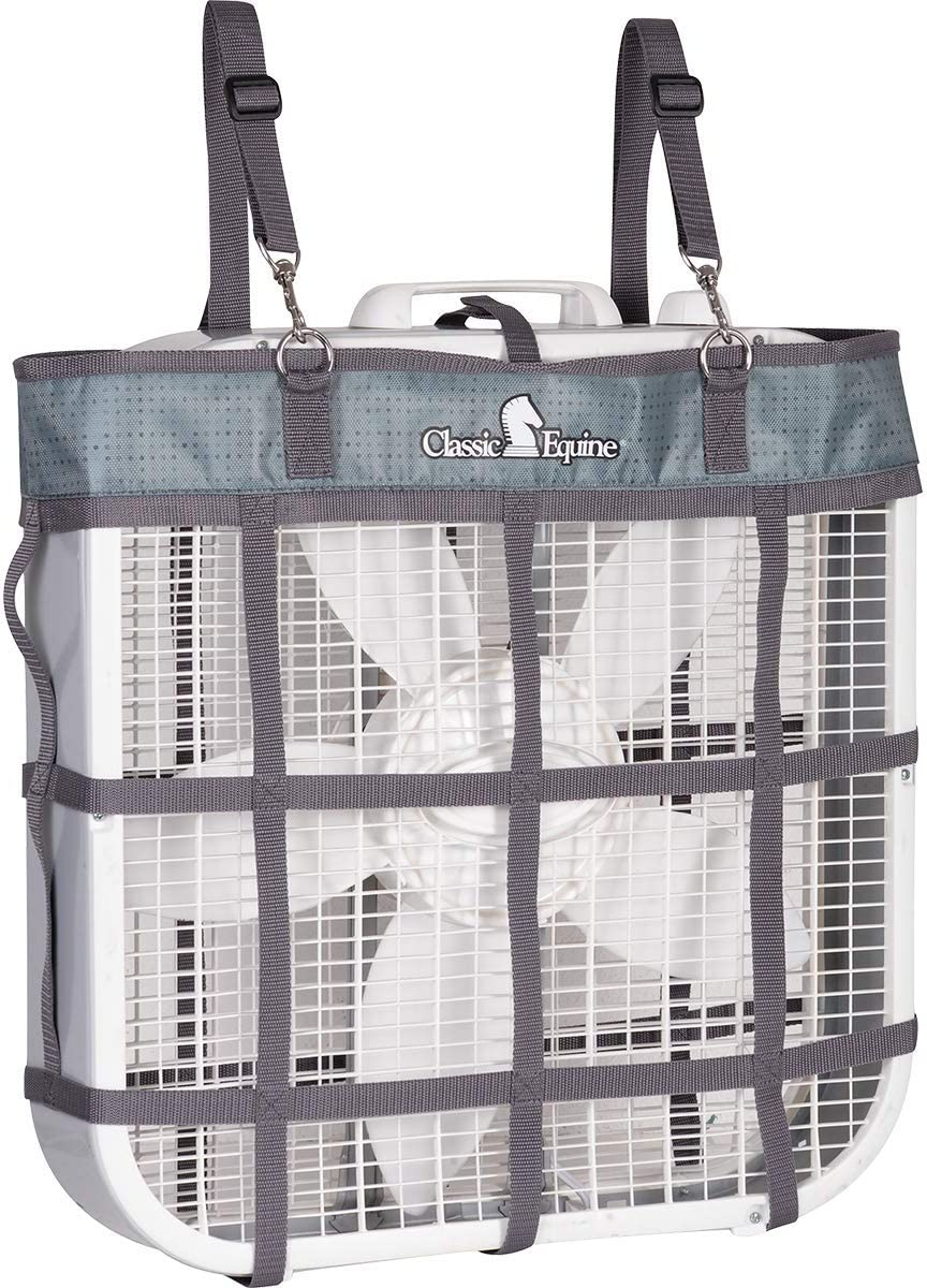 Classic Equine Stall Fan Bag Olive Green