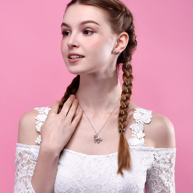 MMC Silver Pendants Horse Zodiac Necklaces for Womens
