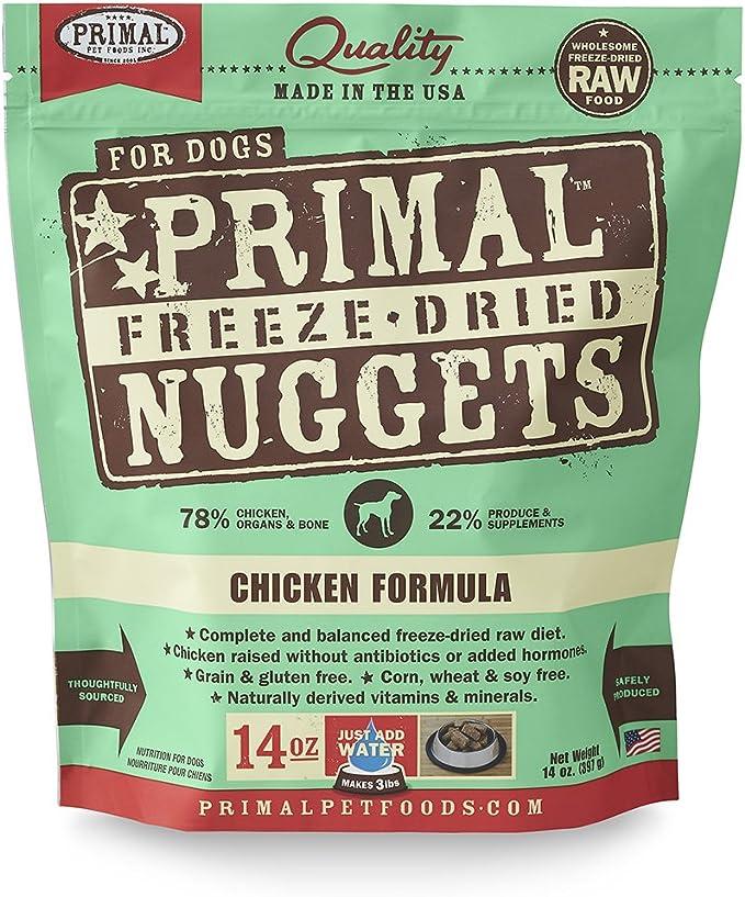 Primal Pet Foods Freeze-Dried Canine Chicken Formula 14 Oz: Primal Dog Food: Pet Supplies: Amazon.com