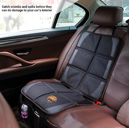 Autositzauflage Jvmac Premium Oxford Material Zum Schutz Vor Kindersitzen Isofix Geeignet Auto Kindersitzunterlage Wasserabweisend Autositzschutz Unterlage Schoner In Universeller Passform Baby