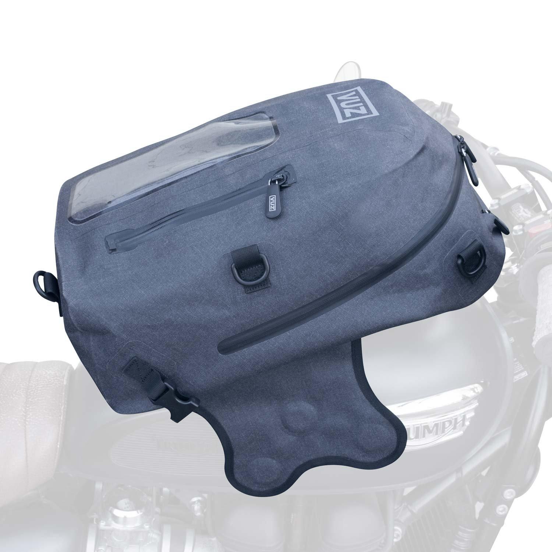 VUZ Moto Dry Tank Bag Backpack. Waterproof Motorcycle Backpack & Magnetic Motorcycle Tank Bag. 22L (Premium)