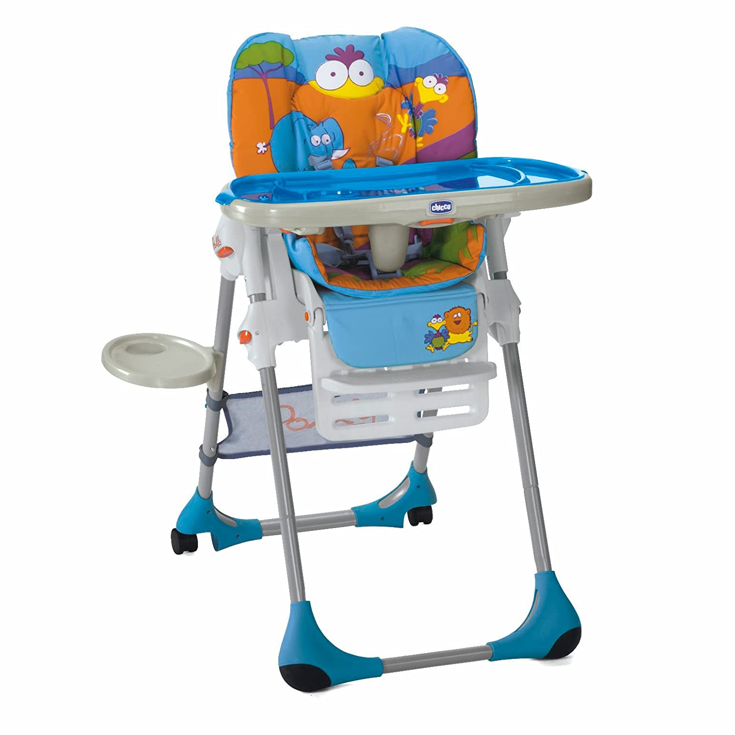 Buy Chicco Polly 7 in 7 Highchair (Blue) Online at Low Prices in