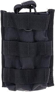 ?Sac Tactical unique Mag Magazine poche ouverte haut pour M4/M16 5,56.223 walkie-talkie interphone noir GGG
