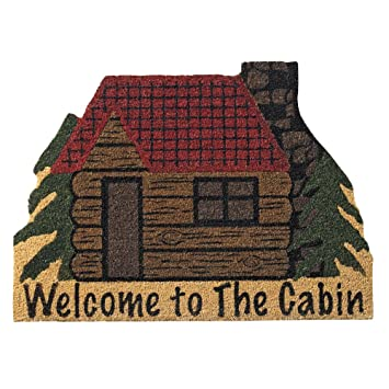 Incroyable Welcome To The Cabin Doormat   Wilderness Decor