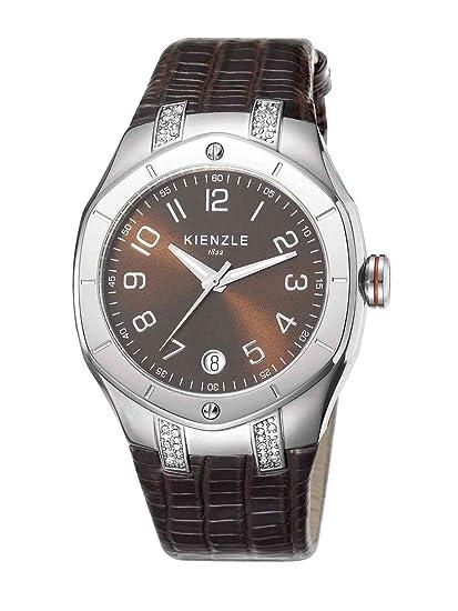 Kienzle K5022016031-00057 - Reloj analógico de cuarzo para mujer con correa de piel,