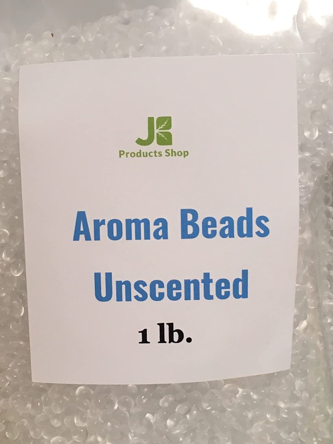 Aroma Beads Unscented 1 lb - Ready for Creating Your Own Scent. Make a Long Lasting Home Fragrance! JB Products Shop