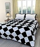 Mahadev Handicrafts Checksbox Printed Polycotton Single Bed Reversible Dohar/AC Dohar/AC Blanket/Blanket