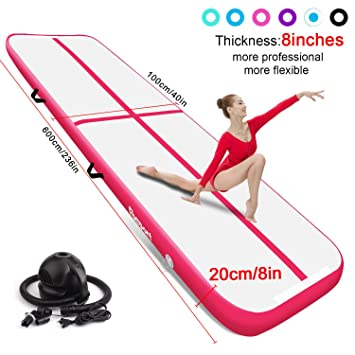 FBSPORT 20 cm Gimnasia Inflatable Air Track Colchoneta ...