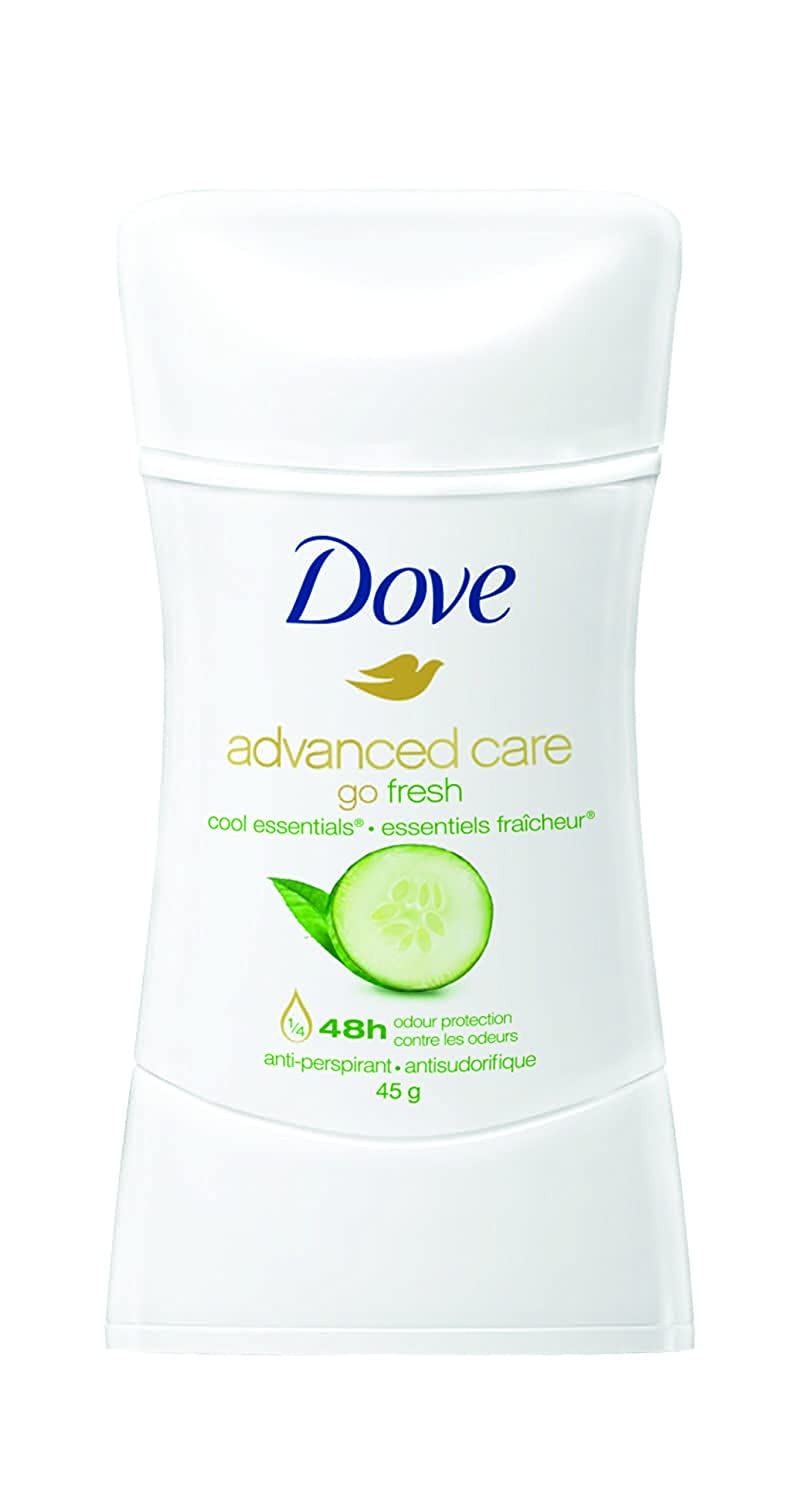 Dove Go Fresh Cool Essentials Cucumber Scent Anti-Perspirant Stick 45g