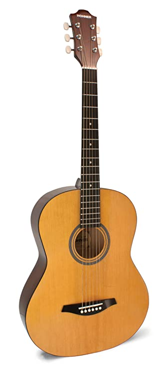 Amazon Com Hohner Hw200 Concert Sized Acoustic Guitar Musical
