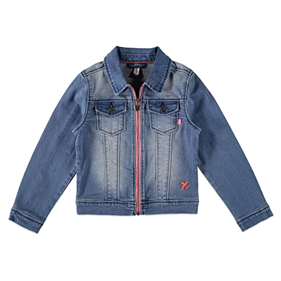 6bc0a34e7e70 Kidzface Blouson - Veste en jean - Fille  Amazon.fr  Vêtements et ...