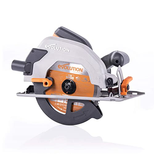 Evolution Power Tools R185CCSL 7-1 4 Multi-Material Circular Saw