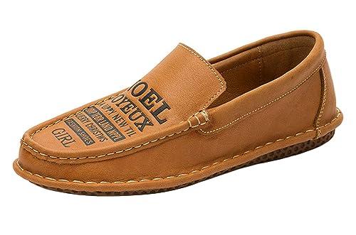 ICEGREY - Mocasines de Piel Lisa para Hombre: Amazon.es: Zapatos y complementos