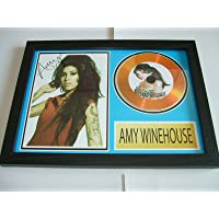 gold disc frames Amy Winehouse Disco de Oro